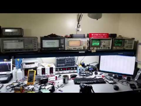 Tour of my electronics workbench / RF Lab NA5B