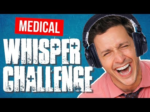 Hilarious MEDICAL Whisper Challenge! | Doctor Mike
