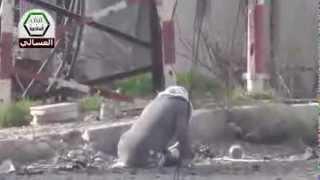 دمشق - العسالي السكة حرّة مصابة في مرمى القناص 16-2-2013