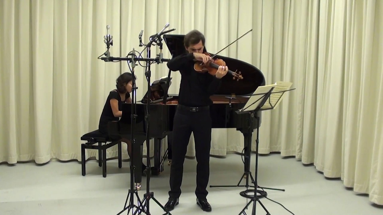 Mozart - Violin Sonata KV 454, Hector Burgan (2/3)