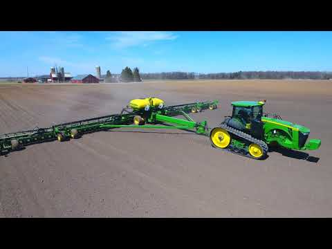 First Day of Spring Planting for Atwater Farms Inc. 4/23/2018