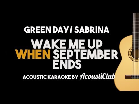 green-day/-sabrina---wake-me-up-when-september-ends-(acoustic-guitar-karaoke)