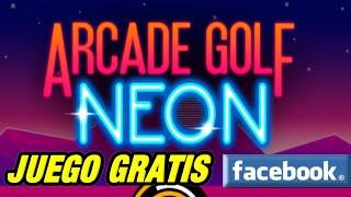 Arcade Golf Neon Juego de Golf Gratis Facebook y PC