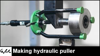 Making hydraulic puller