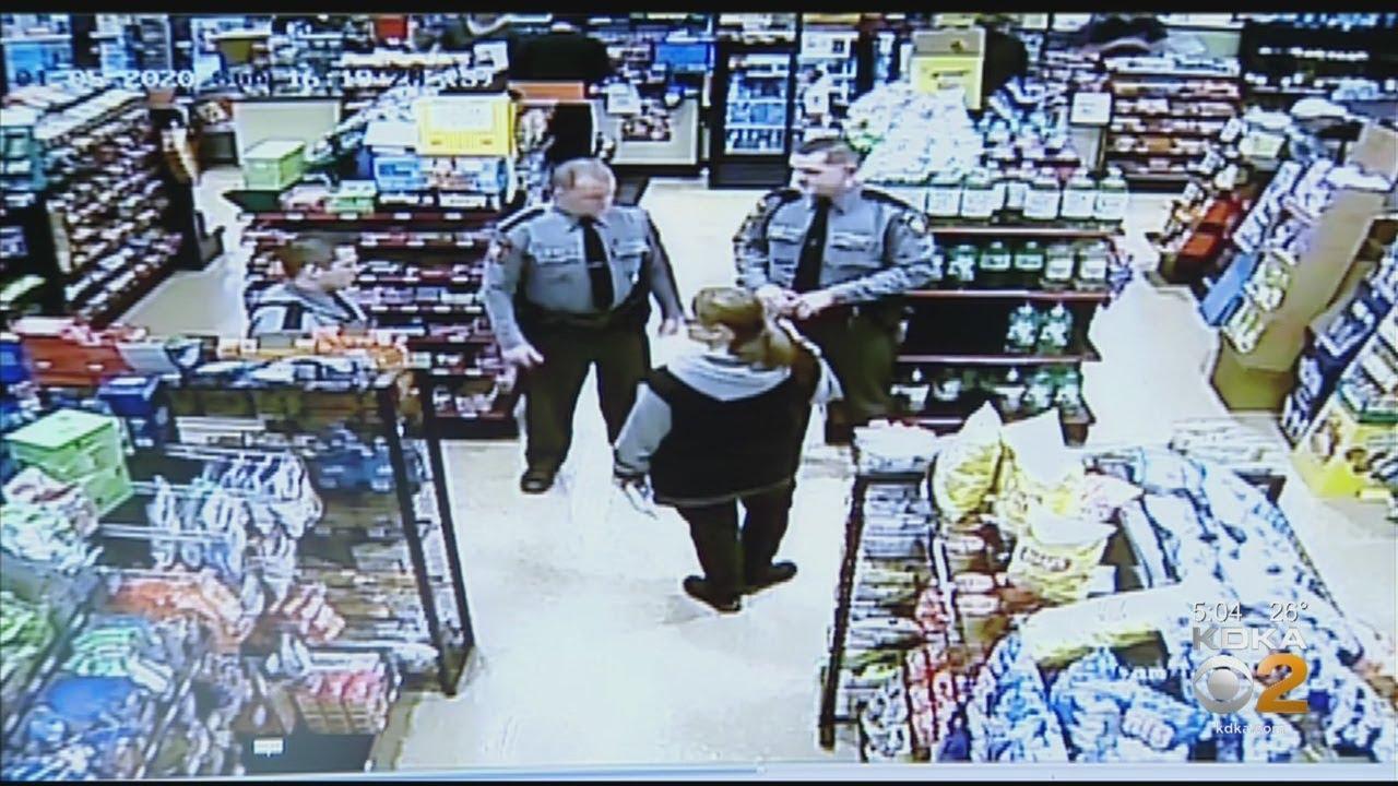 Woman Dumps Stolen Coffee On State Trooper