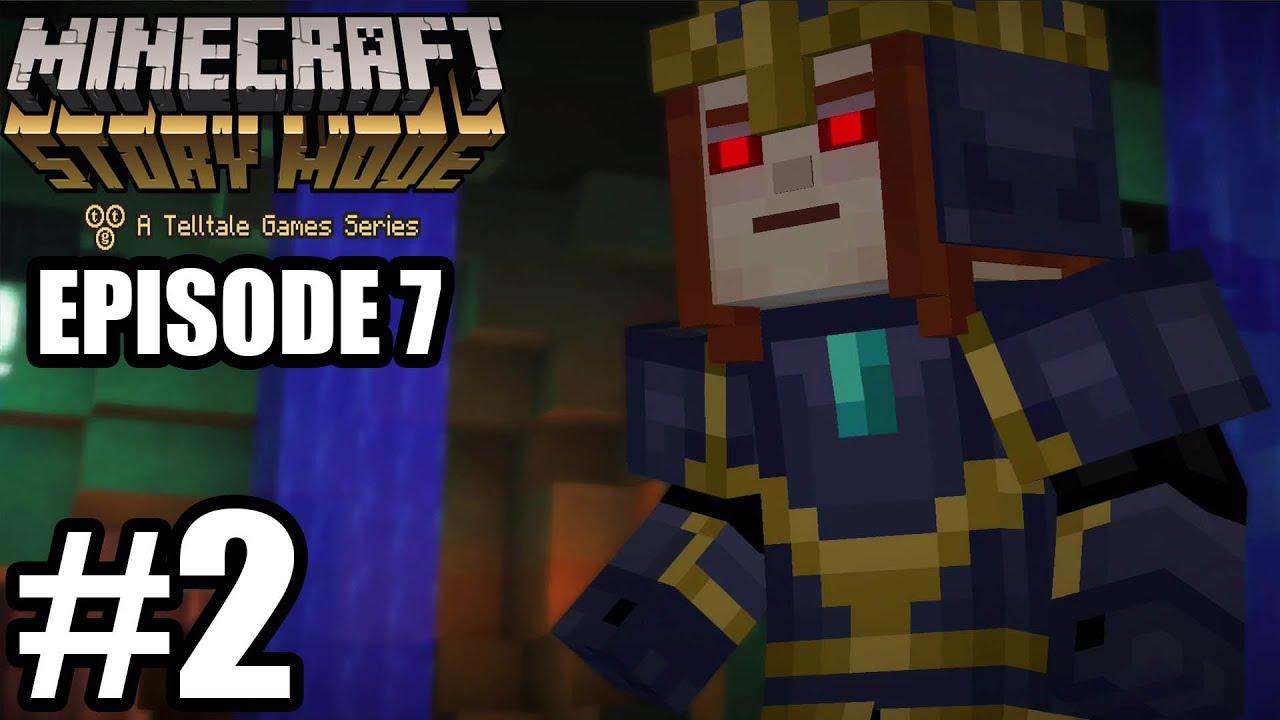 Minecraft story mode прохождение 2 эпизод