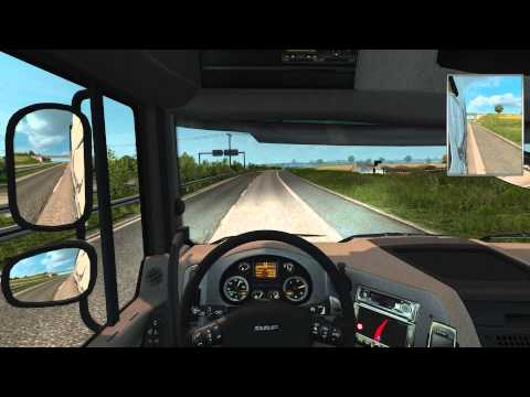 Euro Truck Simulator 2 - Delivering fish fingers from Stockholm to Birmingham