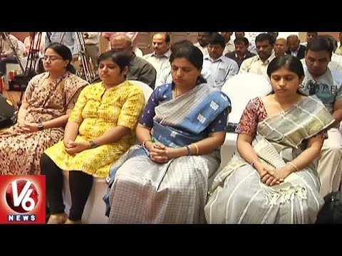 Governor Narasimhan Unveils 'The Heartfulness Way' Book | Hyderabad | V6 News