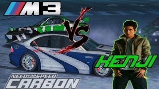 NFS Carbon BMW M3 vs Kenji