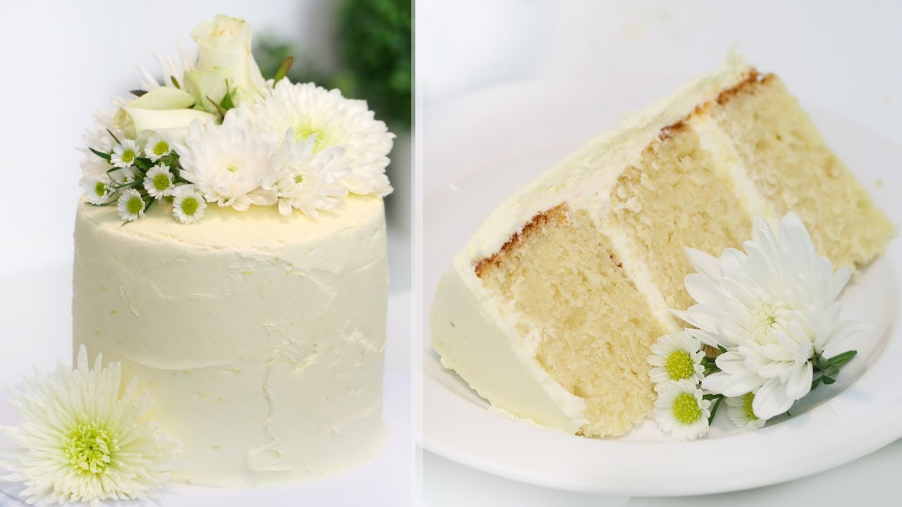 How to Make the ROYAL WEDDING CAKE!! Lemon Elderflower Cake | Prince ...