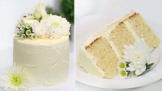 How to Make the ROYAL WEDDING CAKE!! Lemon Elderflower Cake  Prince Harry and Meghan Markle&#39s Cake