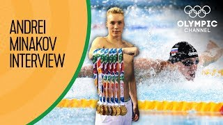 Andrei Minakov wants to push Russia to the next level in Swimming | Exclusive Interview