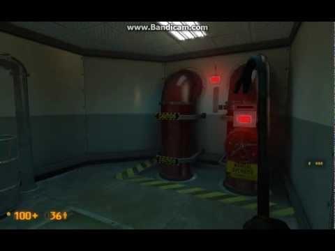 Half Life Black Mesa walkthrough part 5 - Simple turns