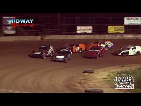 MIDWAY SPEEDWAY - MIDWEST MODS - HEAT RACE - 8-2-19
