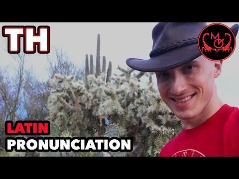 How to Pronounce Latin (Letters PH) / De Latine Pronuntiando (PH Digramma)