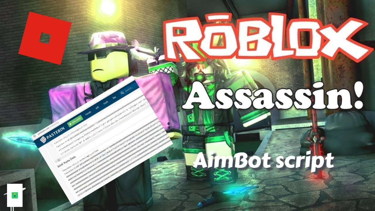 New Roblox Hack Script Assassin Instant Kills Insane
