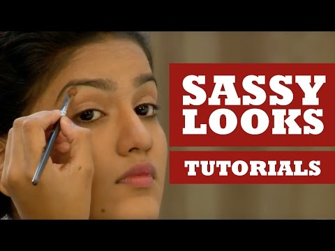 Sassy Look Tutorial - Get Stylish with Poornima Indrajith - Kappa TV