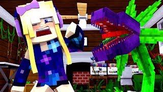 KILLERPFLANZE GREIFT mich AN?! - Minecraft ALLTAG