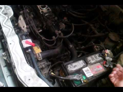 Disconnect The Battery 01 06 Chrysler Sebring Convertible Lxi
