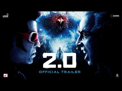 2.0 - Official Trailer [Hindi] | Rajinikanth | Akshay Kumar