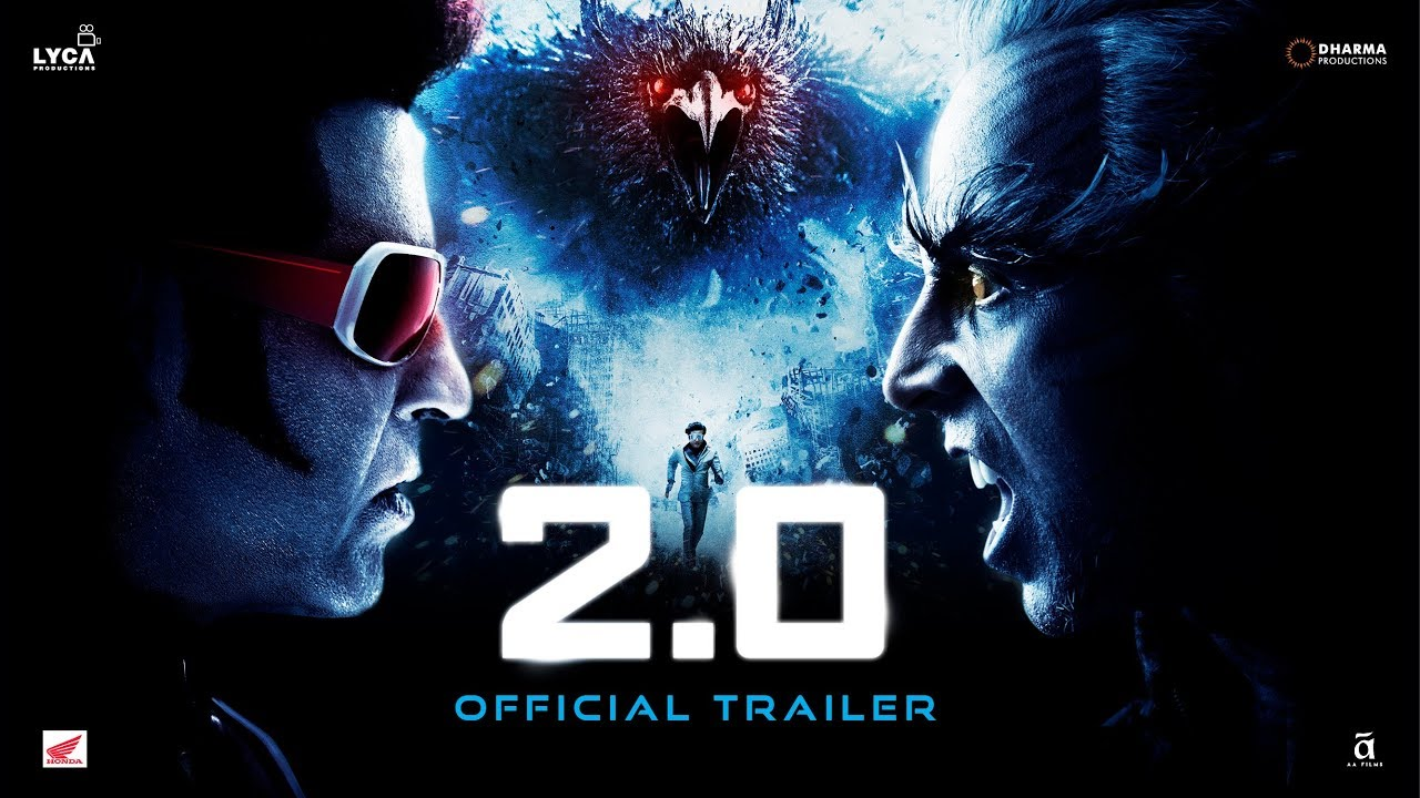 Download 2.0 - Official Trailer [Hindi] | Rajinikanth | Akshay Kumar | A R Rahman | Shankar | Subaskaran
