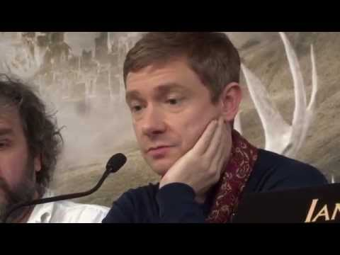 Martin Freeman Wants to Inspire Children to be Obsessed Over Jewelry with The Hobbit