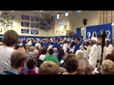 Whitinsville Christian school graduation 2012