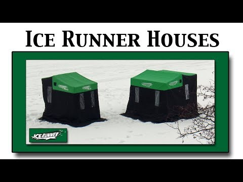 Ice Runner Sled Fish Houses | BEST VALUES Roomy, Lightweight, Affordable Ice Fishing Shelters