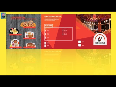 How To Design a Trifold Brochure in Adobe Illustrator CC  2019 Tutorial thumbnail