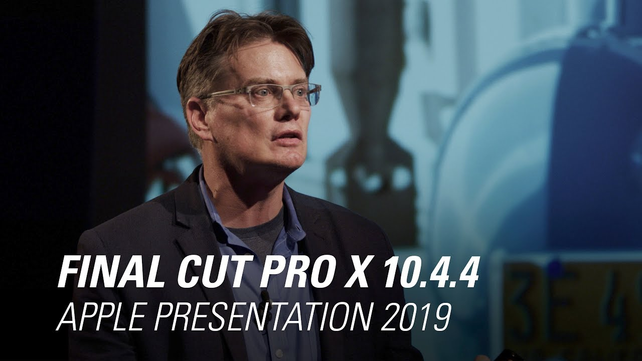 Apple Final Cut Pro X 10.4.4 Presentation