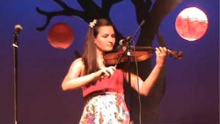 Emily playing Love Story on violin
