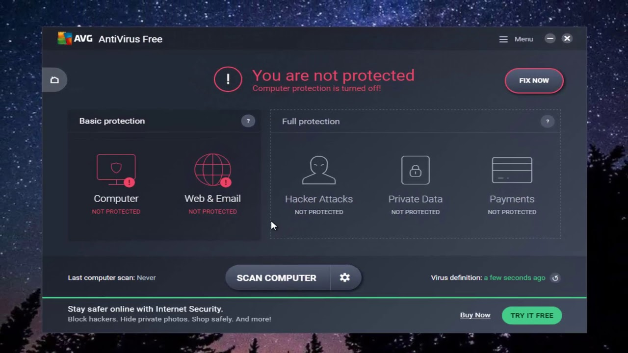 avg free for windows 10 review