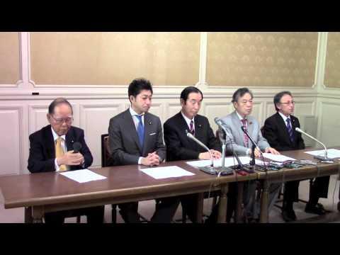 野党5党が共同で、安保関連2法廃止法案を衆院に提出