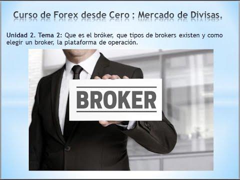 Elegir el broker de forex correcto