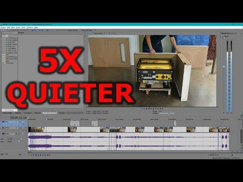 How to make a standby generator quieter