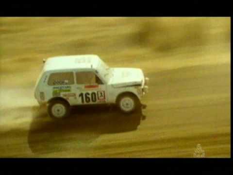 LADA 4x4 Niva vs Renault R20 Turbo