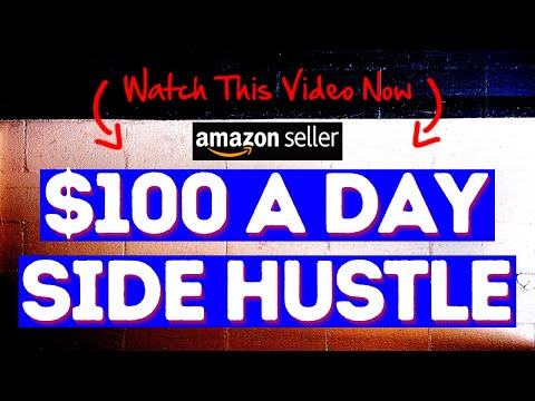 $100 A Day Amazon Side Hustle From Home!