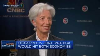 IMF's Lagarde: Global economy is in 'a delicate moment' | Squawk Box Europe