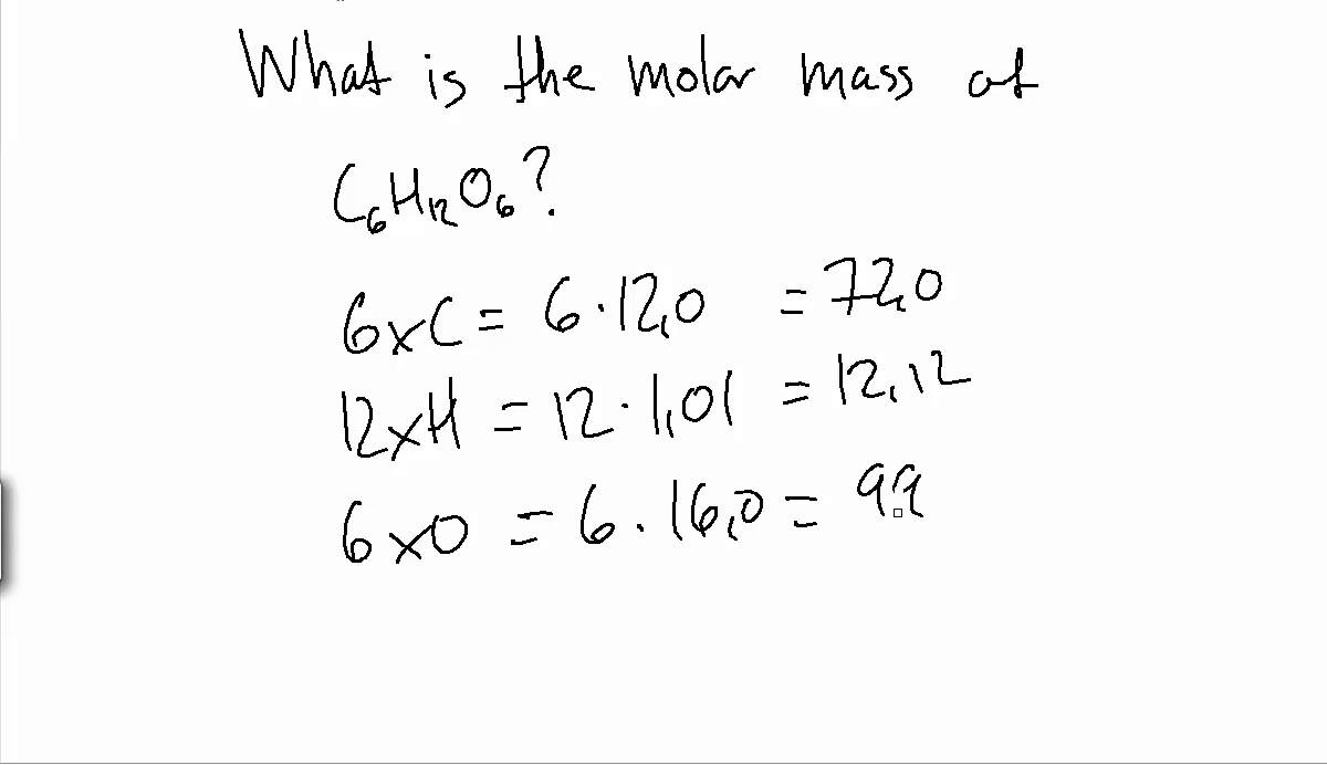 How To Find The Molar Mass Of A Compound? Example YouTube Maxresdefault Watch?v QPehbwkiw