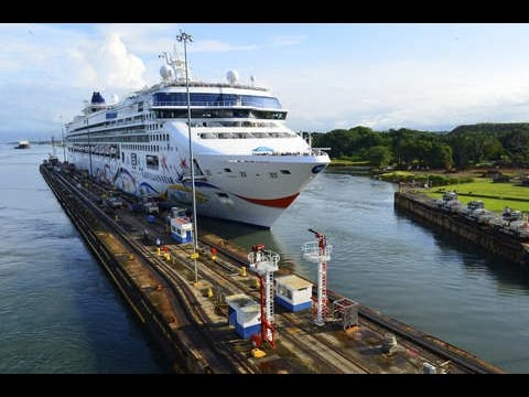 2015 - PANAMA CANAL - Miami to Los Angeles Cruise - NCL Star