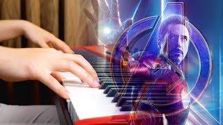 IRON MAN vs AVENGERS MAIN THEME - Advanced Piano Cover #Endgame