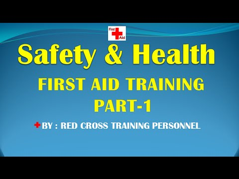 FIRST AID TRAINING PART-1 (LANGUAGE: HINDI, PUNJABI)