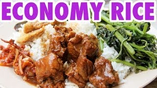 Malaysian Economy Rice - Street Chinese Food