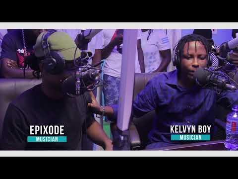 Kelvyn boy and Epixode Freestyle on Zylofon fm