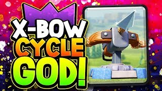 BEST X-BOW CYCLE PLAYER in the WORLD! INSANITY!