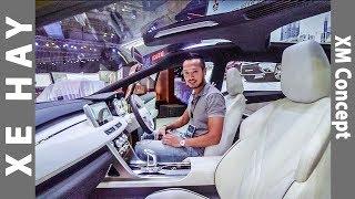 |VMS 2017| Khám phá chi tiết mẫu Concept XM của Mitsubishi