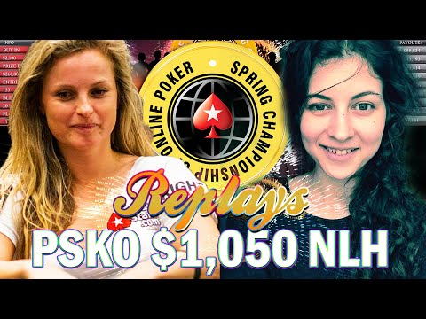 SCOOP 2019 Event #64-H $1k Mahrama & Fatima De Melo Pokerstars Replay