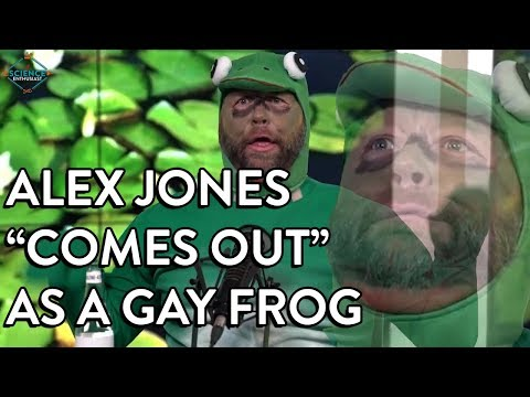 The KiddChris Show - Alex Jones - Gay Frog