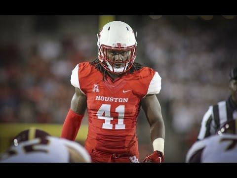 Steven Taylor Junior Highlights   Monster Linebacker   Houston