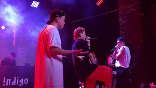 180721 Indigo - 저스디스(JUSTHIS) , Kid Milli , NO:EL , 영비(Young B) 인디고뮤직 컴필레이션 앨범 발매 기념 콘서트